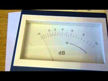 Измерение шумовой характеристики