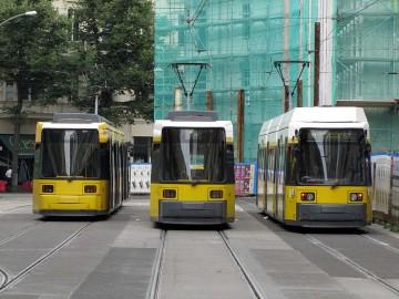 Измерение шумовых характеристик потока трамваев