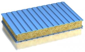 Mineral'naja vata v sjendvich paneljah