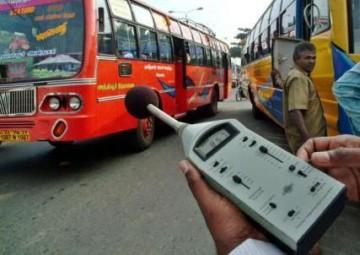 Шумовое загрязнение автомобильным транспортом
